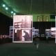 Edžio Jurčio, Arūno Kulikausko ir Romualdo Požerskio parodų Mykolo Oginskio rūmų žirgyne vaizdas. Plungė, 2018 m. A. Narušytės nuotr.