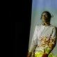 """Adrianas Carlo Bibiano spektaklyje """"Tvenkti"""". Tarptautinio šiuolaikinio meno festivalio """"Startas"""" archyvo nuotr."""