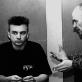 Andrius Mamontovas ir Eimuntas Nekrošius. D. Matvejevo nuotr.