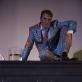 """Raimondas Klezys spektaklyje """"Būtis nr. 2"""". G. Matiuko nuotr."""