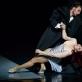 """Ernestas Barčaitis ir Olesia Šaitanova balete """"Stebuklingas mandarinas"""". M. Aleksos nuotr."""