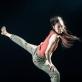 "Haruka Ohno kompozicijoje ""The Spotlight"". M. Aleksos nuotr."