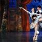 """Jade Longley ir Romas Ceizaris balete """"Čipolinas"""". M. Aleksos nuotr."""