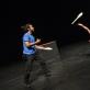 "Lucas Castelo Branco ir Johannes Bauhofer pasirodyme ""Piti Peta Hofen Show"". D. Matvejevo nuotr."
