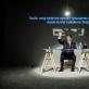 """Martynas Nedzinskas spektaklio """"Nakties rašytojas"""" eskize. D. Matvejevo nuotr."""