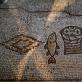 Mozaika Tabos Duonos ir žuvies padauginimo bažnyčioje. IV a.