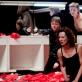 "Nelė Savičenko (Gertrūda) spektaklyje ""Hamletas"". K. Sabeckio nuotr."
