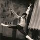 """Petras Skirmantas televiziniame balete """"Nepaprasta diena"""". Asmeninio archyvo nuotr."""