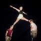 """Scena iš cirko spektaklio """"Erdvė"""". D. Matvejevo nuotr."""