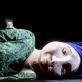"""Scena iš spektaklio """"Antis, Mirtis ir tulpė"""". D. Matvejevo nuotr."""
