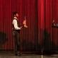 "Viktor Gonzales ir Jarryd Alexander Haynes spektaklyje ""Checkpoint Woodstock"". K. Angerer nuotr."