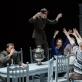 """Scena iš spektaklio """"Trys seserys"""". Teatro """"Krasnyj fakel"""" nuotr."""