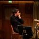 """Sebastian Schwarz ir Nina Hoss spektaklyje """"Sugrįžimas į Reimsą"""". A. Declair nuotr."""