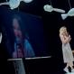 """Birutė Kapustinskaitė ir Agnė Matulevičiūtė spektaklyje """"Šokis objektui ir vaikui"""". D. Putino nuotr."""