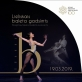 """Koncerto """"Didysis baleto šimtmetis"""" Latvijoje plakatas."""