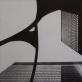 "Algimantas Kezys, ""Alexanderio Calderio ""Stabili"", Čikaga. 1982 m."