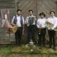 Klezmer muzikantai Vyžuonėlės dvare.