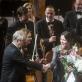 Modestas Pitrėnas, Justė Janulytė, Mario Brunello ir Lietuvos nacionalinis simfoninis orkestras. D. Matvejevo nuotr.