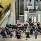 Lietuvos kamerinis orkestras, Lietuvos ansamblių tinklas, Rusnė Mataitytė ir Vykintas Baltakas. D. Matvejevo nuotr.