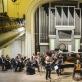 "Ansamblis ""FortVio"", Lietuvos kamerinis orkestras ir Robertas Šervenikas. D. Matvejevo nuotr."