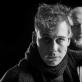 """Monospektaklio """"Noktiurnas"""" aktorius Dovydas Stončius ir režisierius Gytis Padegimas. D. Matvejevo nuotr."""