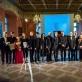 Kamerinių ansamblių ir pianistų konkurso laureatai bei diplomantai. M. Mikulėno nuotr.