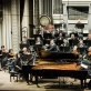 Indrė Baikštytė, Gintaras Januševičius, Tung-Chieh Chuangas ir Lietuvos nacionalinis simfoninis orkestras. D. Matvejevo nuotr.