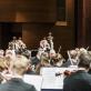 Rafael Payare ir Vienos filharmonijos orkestras. D. Matvejevo nuotr.