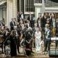 """""""Konzerthausorchester Berlin"""", Iveta Apkalna ir dirigentas Juraj Valčuha. D. Matvejevo nuotr."""