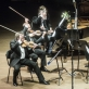 Čiurlionio kvartetas ir Petras Geniušas. D. Matvejevo nuotr.