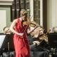 Vineta Sareika ir Nacionalinis simfoninis orkestras. D. Matvejevo nuotr.