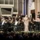 """Koncerto """"Simfoninė salvė Naujiesiems"""" akimirka. D. Matvejevo nuotr."""