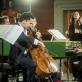"Edgar Moreau, Maxim Emelyanychev ir baroko orkestras ""Il Pomo d'Oro"". D. Matvejevo nuotr."