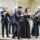 Hugo Ticciati ir Lietuvos kamerinis orkestras. D. Matvejevo nuotr.