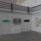 """Grupės """"Iš reikalo"""" paroda Dūmų fabrike. Ekspozicijos fragmentas. 2020 m.  J. Jasinskaitės nuotr."""