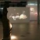 """Arturo Valiaugos, Lino Liandzbergio ir Roko Valiaugos parodos """"Duona, vynas, laikmena"""" vaizdas. A. Narušytės nuotr."""