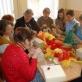 Dirbtuvės smurtą patyrusioms moterims Šakiuose bendruomenės centre. 2010 m. E. G. Bogdanienės nuotr.