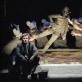 """Dainius Gavenonis (Oidipas) spektaklyje """"Oidipas karalius"""". D. Matvejevo nuotr."""