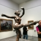 """Edgar Degas, Šokėja, ketvirtoji pozicija ant kairės kojos, trečioji studija"""" (Dancer, Fourth Position on the Left leg, Third Study), 1921-1931 m. E. Rust nuotr."""