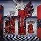 """Birutės Žilytės sienų tapyba. """"Eglė žalčių karalienė"""""""