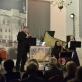Trombonininkas Adrianas France'as, viola da gamba griežiantis Rodney Prada, fleitininkai Ieva Bublytė, Rodrigo Calveyra. V. Abramausko nuotr.
