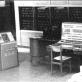 Elektroninė skaičiavimo mašina BESM-2. Nuotrauka iš www.mii.lt