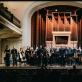 """""""Future Symphony"""" orkestras, dirigentas Adomas Morkūnas-Budrys. J. Šopos nuotr."""