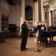 Juozo Gruodžio kūrinių koncertas. Smuikininkas Christopheris Horneris ir pianistas Johnas Lenehanas