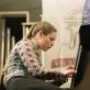 Pianistė Gryta Tatorytė. D. Matvejevo nuotr.
