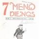 """Žurnalo """"7 meno dienos"""" (1931-10-22, Nr. 72) viršelis su Telesforo Kulakausko piešta antrašte ir jo sukurto kostiumo spektakliui """"Žentas"""" projekto reprodukcija"""