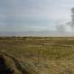 """Luc Delahaye, """"JAV bombarduoja Talibano pozicijas"""", Afganistanas. 2001 m."""