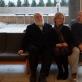 Raulis Meelis, Giedrė Jankevičiūtė ir Mindaugas Navakas Šiuolaikinio meno centro skaitykloje. 2015 m. A. Narušytės nuotr.