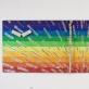 """Ričardas Nemeikšis, """"Spalvų spektro ir pozityvaus mąstymo peizažas"""". 2014 m. V. Ilčiuko nuotr."""