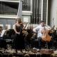 Mari Samuelsen, Håkon Samuelsen, Juozas Domarkas ir Nacionalinis simfoninis orkestras. D. Matvejevo nuotr.